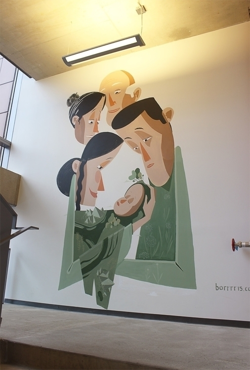 Mural Concordia University them - borrrris | ello