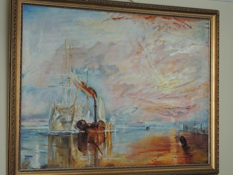 JMW Turner - painting - yazzum | ello