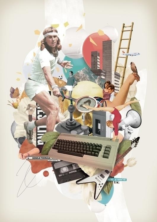 Nostalgia - collage, sport, tennis - nazariograziano-2835 | ello