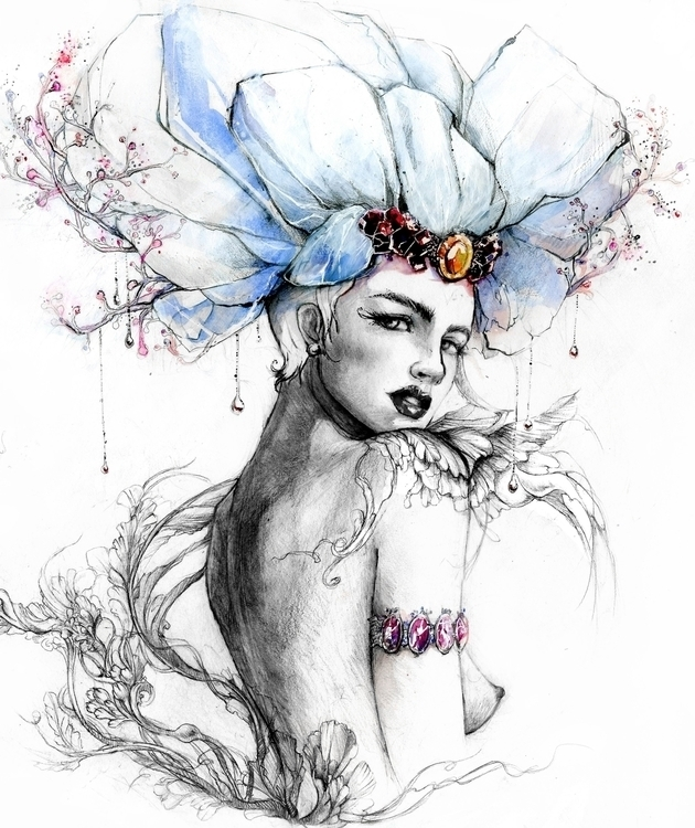 fashion, fashionillustration - danyvo | ello