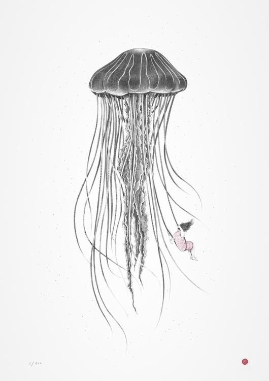 Undersee - medusa, jellyfish, sea - albatf | ello