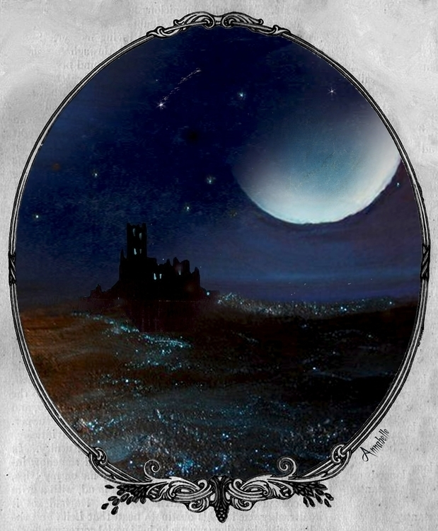 BEWITCHING MOON - painting, digitalart - annabelle-1108 | ello