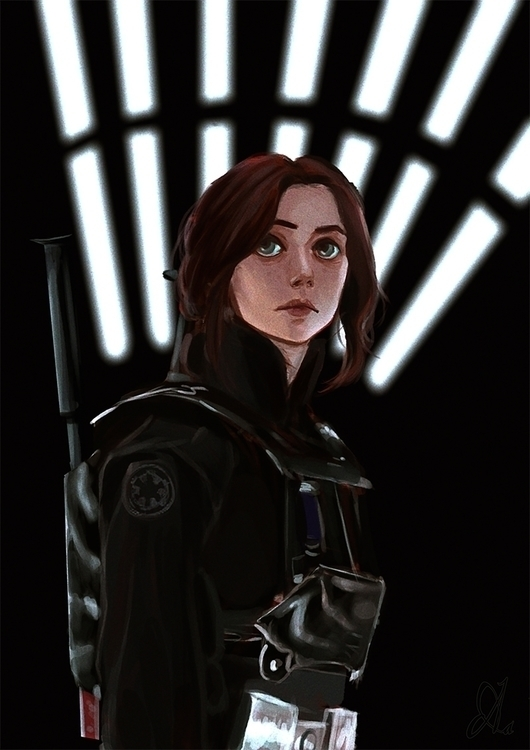 Rogue1 - starwars, fanart, reference - lacont | ello