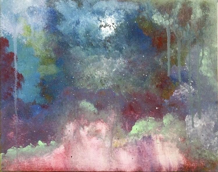 Maelstrom - painting, acrylic, acryliconcanvas - garrettlawson   ello