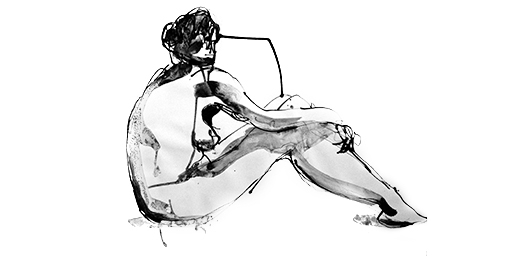 drawing, ink, inkdrawing, figure - garrettlawson | ello