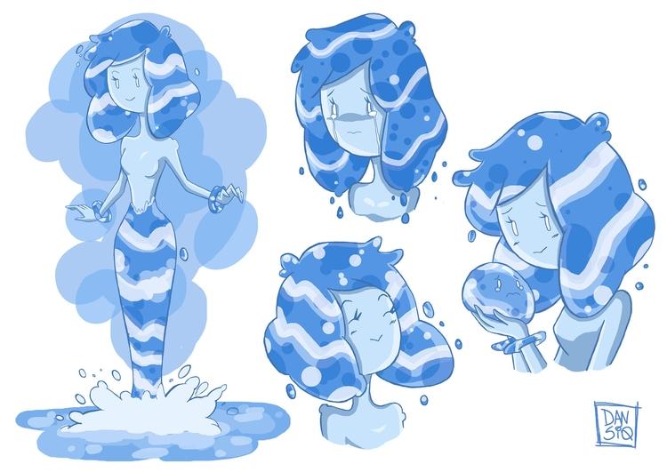 Water (Character 2minds Studio - dansiqueira | ello