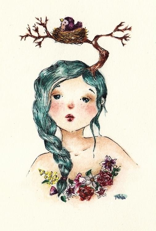Spring queen feels numb winter - inna-1269   ello