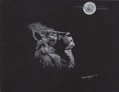 'Leo Moon - drawing - brandyhouse | ello