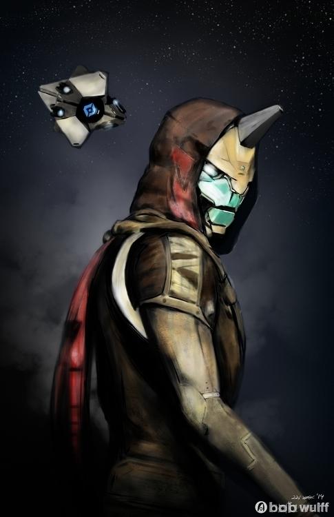 Hunter Vanguard Cayde-6 - videogames - bobwulff | ello