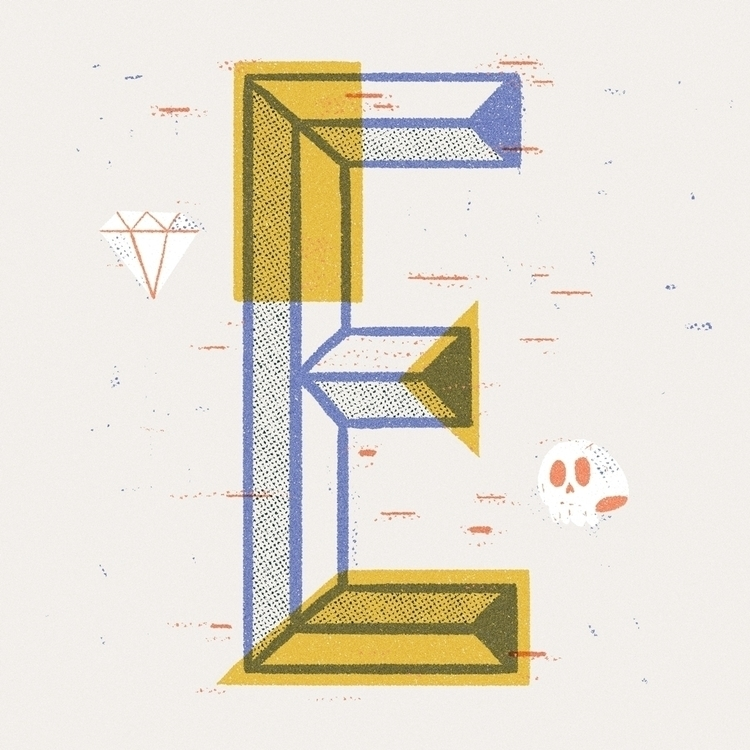 illustration, type, typography - rfortes | ello