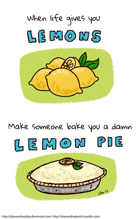 comics, illustration, lemons - alexandrasketch | ello