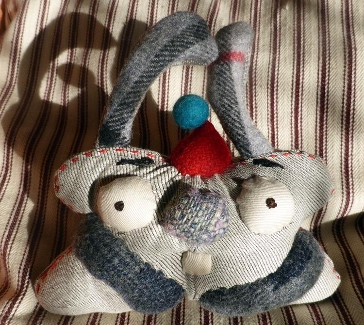 Party Rabbit, Quirky soft sculp - studiobonnici | ello