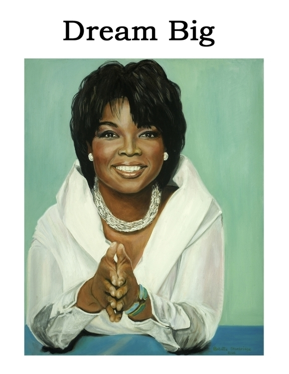 Oprah - painting - bobettestanbridge | ello