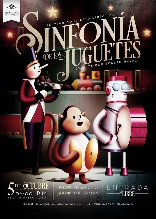 Toy Symphony Poster. Orquesta S - paulozamora | ello