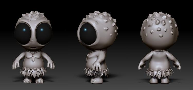 Original concept sculpt Chibeas - hasenjager | ello