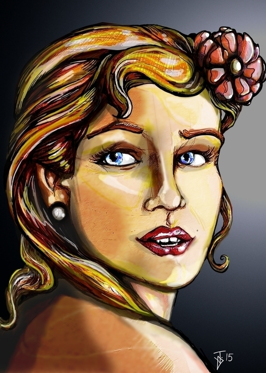 Mona Lisa - woman, pretty, portrait - jeremieduval | ello
