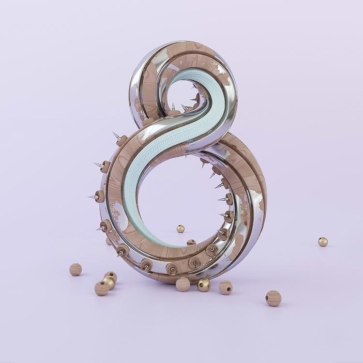 8 Experiment - design, 3d, typography - r4dn-1259 | ello