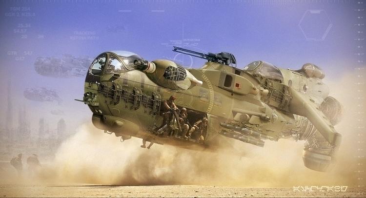 Futuristic Jet Concept - war, jet - dmytrivmax | ello
