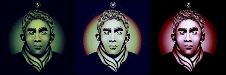 ArtyP portrait - illustration, vector - artyp | ello