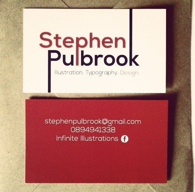 business card design - graphic, Graphicdesign - thatillustrator | ello