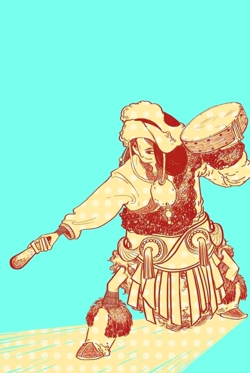 illustration, characterdesign - gloriouspapertiger | ello