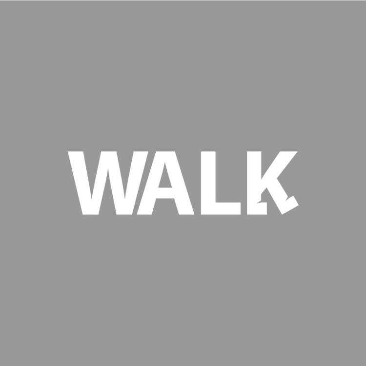 Walk - Logo, Typeface, Design, Font - aikonni | ello