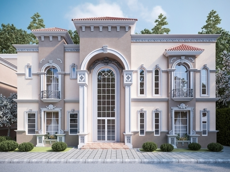 exterior 1 - 3dsmax, digitalart - ibrahim_alameer | ello