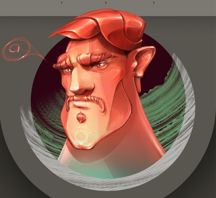 illustration, painting, characterdesign - lidiagh | ello