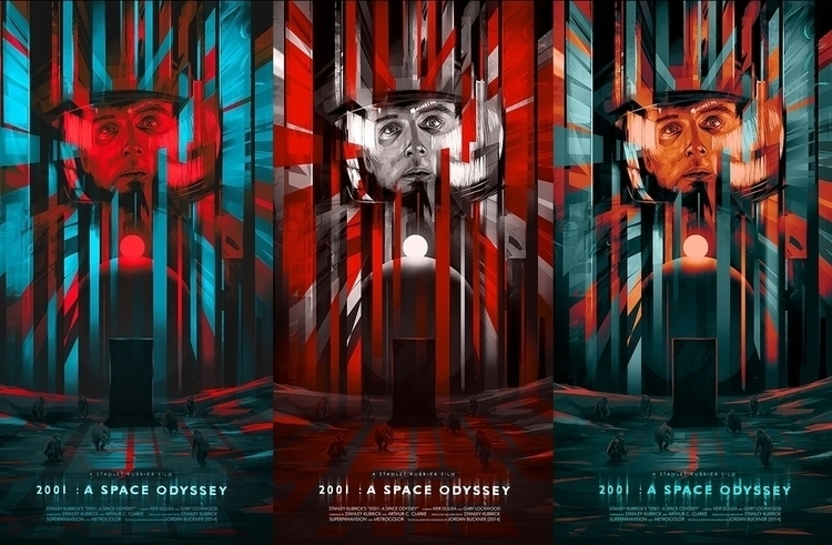 2001: Space Odyssey Print Jorda - jordan_buckner | ello