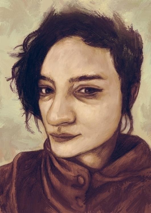 sktchy - illustration, portrait - tomsoftley   ello
