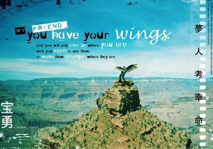 Friend, Wings (2004 - environment - cornevandooren | ello