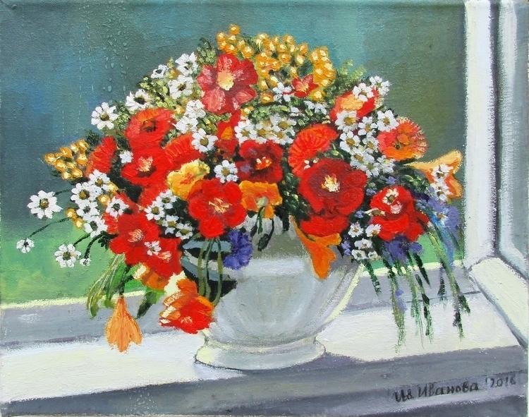 flowers - oilpainting - ivsebastian | ello