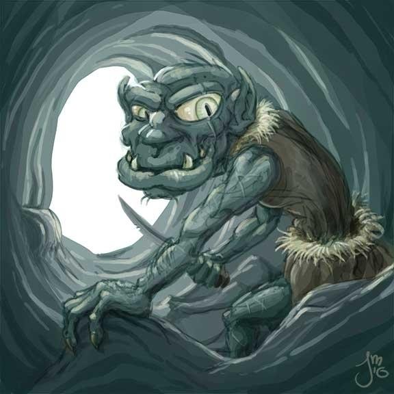 Viridian Goblin Daily Doodle Co - jasonmartin-1263 | ello
