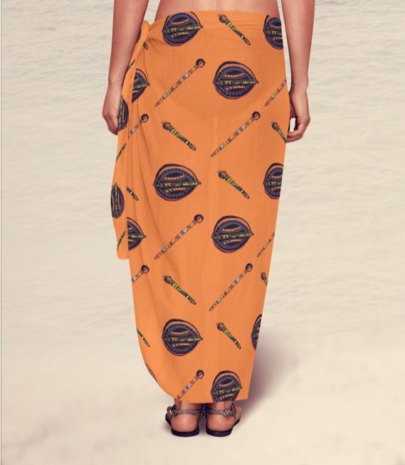 Sarong - fashion, sarong, surfacedesign - irene_rofail   ello