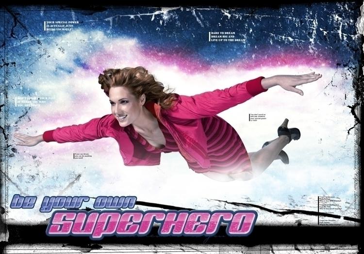 Superhero (2007 - illustration, photography - cornevandooren | ello