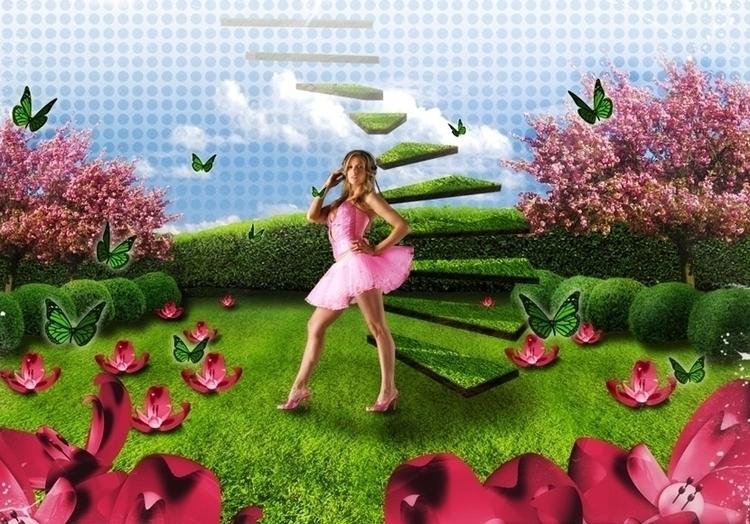 Niki Belucci Promo (2006 - illustration - cornevandooren | ello