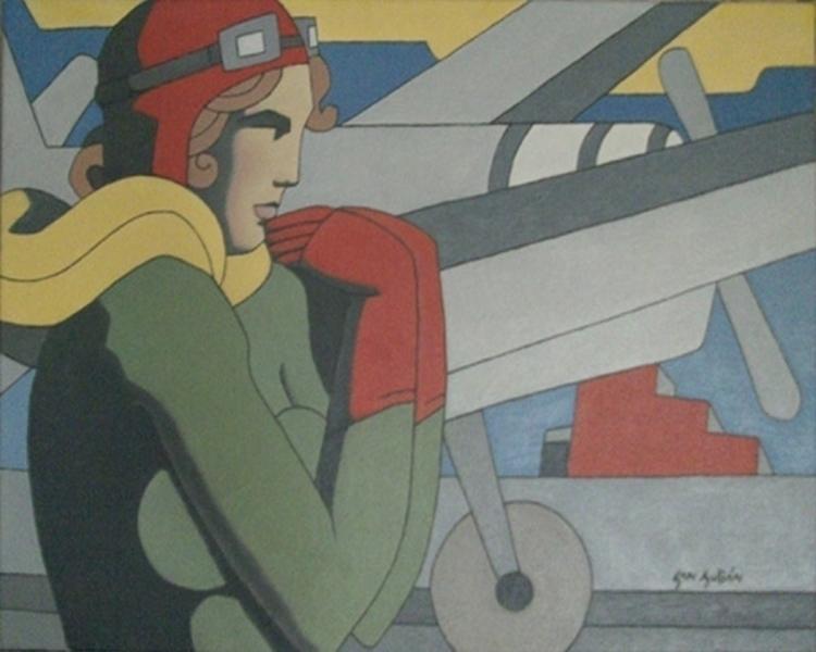 Aviadora. Homenaje Amelia Earha - sanjulian | ello