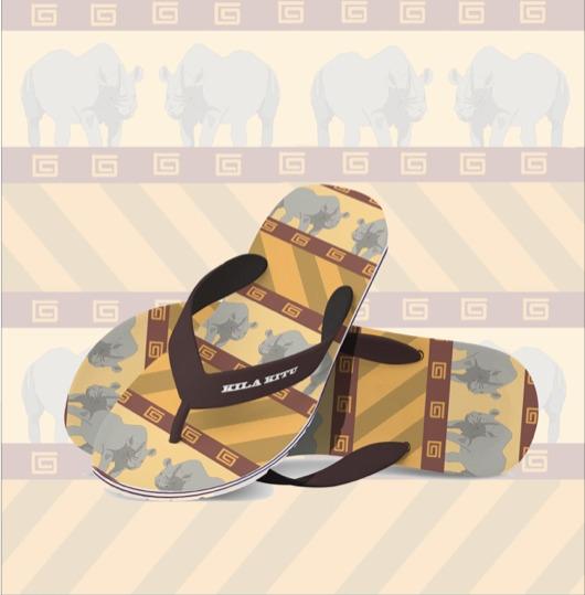 Flip flops - pattern, fashiondesign - irene_rofail | ello