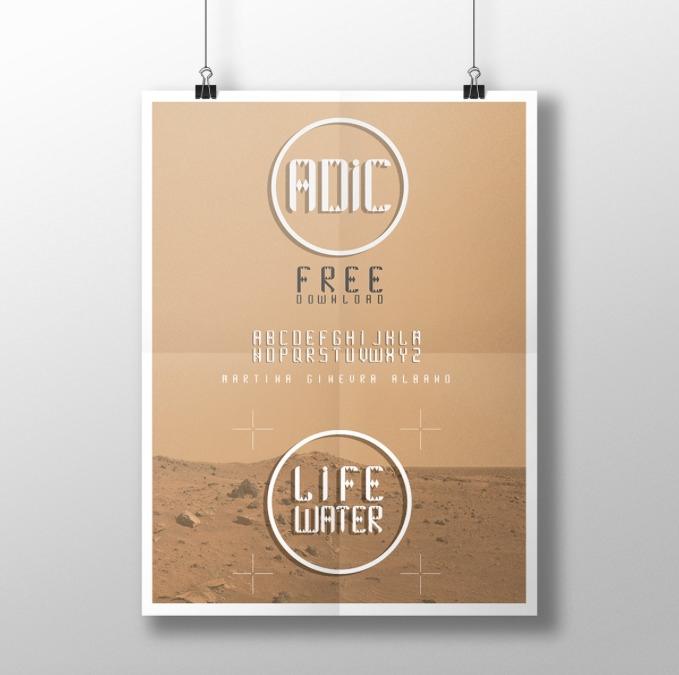 ADIC FREE FONT - Adic free font - martinaginevra | ello