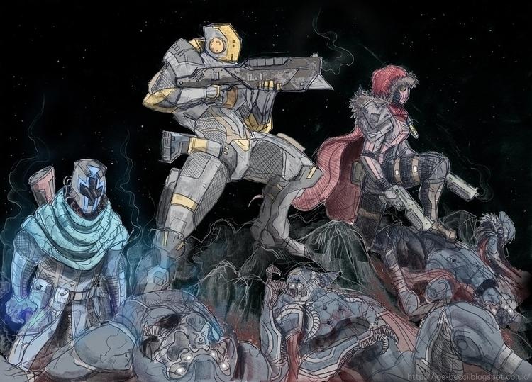 Destiny - Guardians - joebecci | ello