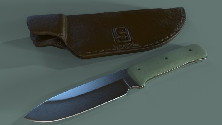 High Poly GSO Knife - coop567 | ello