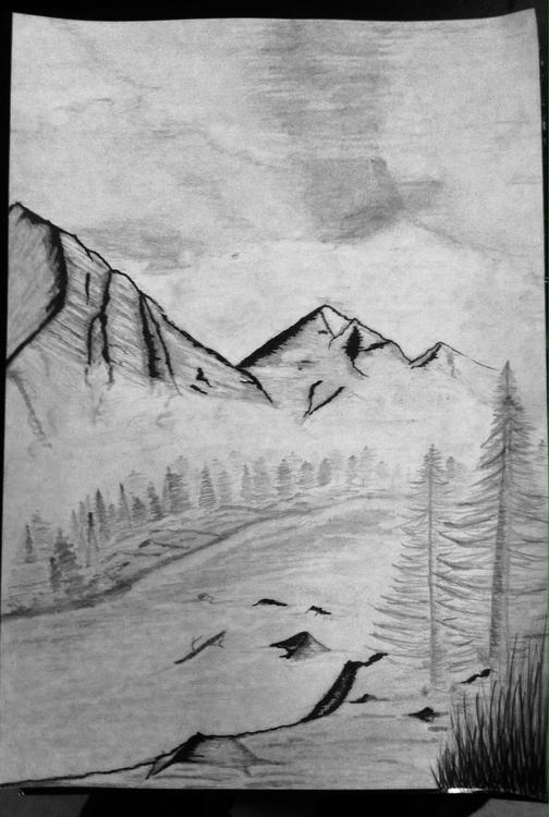 Winter Mountain - paultran-2295 | ello