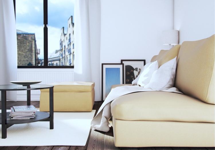 IKEA style interior - 3d, architecture - coop567 | ello