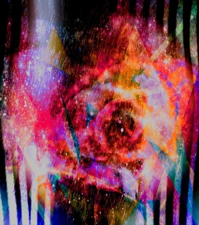 Universe Rains Butterflies - digitalart - schuzannamidnight | ello