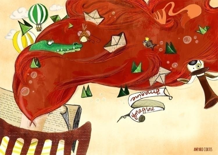 illustration, drawing, children'sillustration - amparocortes | ello