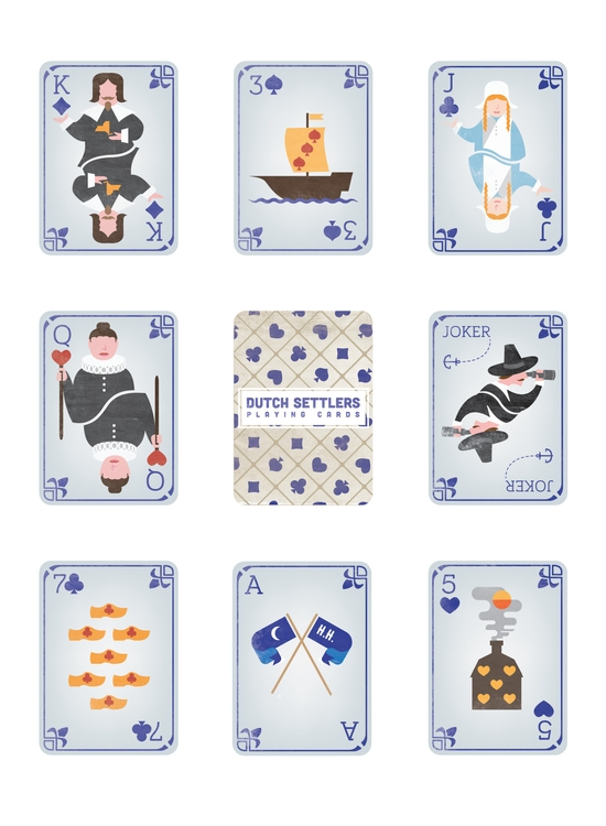 handful cards deck created City - oliverderosier | ello