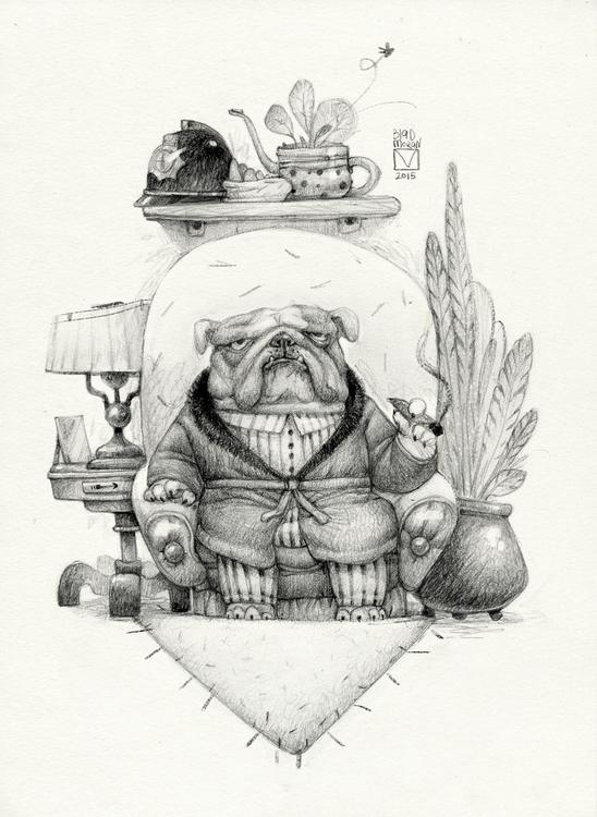 Sketchtober | 011 - characterdesign - blad_moran | ello