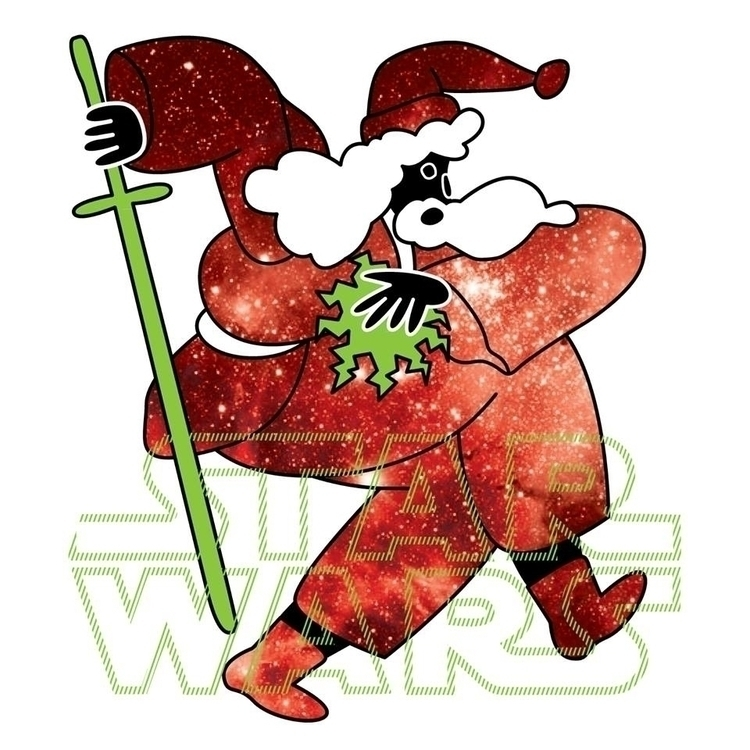 Santa Force - illustration, art - albertkiwi | ello