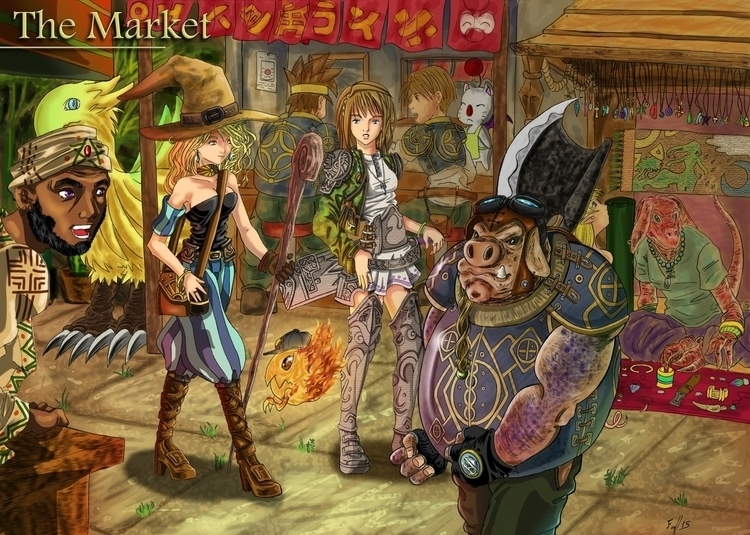 Market Place, tough god, result - firsoff | ello