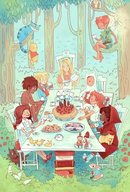 Kid Lit Tea Party! <3 - littleredridinghood - robinrobinsonia | ello